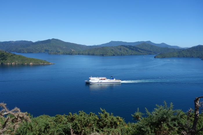 Interislander Ferry, Queen Charlotte Sound
