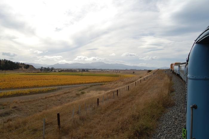 Coastal Pacific Train Journey