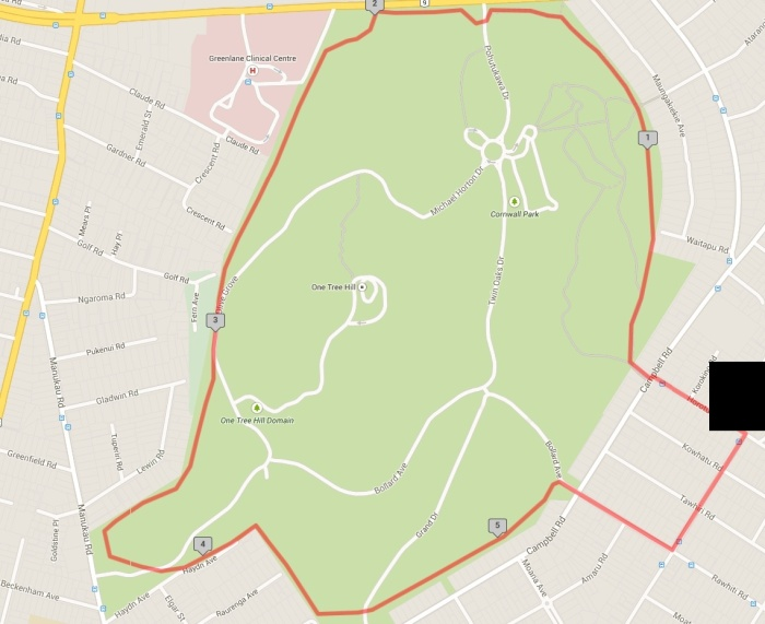 Cornwall Park Loop