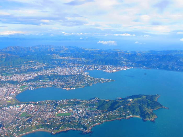 Wellington from the air